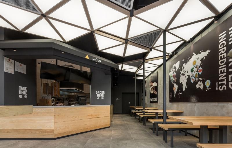 空间设计商超餐饮